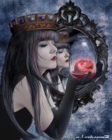 Queen of Hearts.. by DarkArtists-Inc