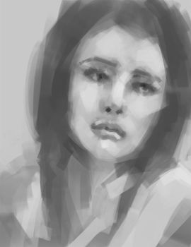 Quick face study by artistic-diarrhea
