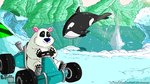 Crash Team Racing : Polar Pass by LeTourbillonEnchanT
