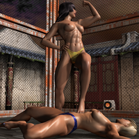 05 Amika vs Chanel Second Fight 318 by CalvadosJapan