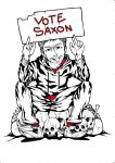 Vote Saxon lineart by Nico-Mac