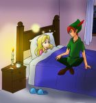 Peter and Alice_The flu by FEuJenny07