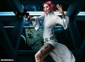 Princess Leia Organa by MachiavelliCro