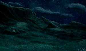 The Green Hill - 01 Night by Ilionej
