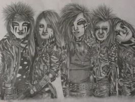 Black Veil Brides by Rybarsicle