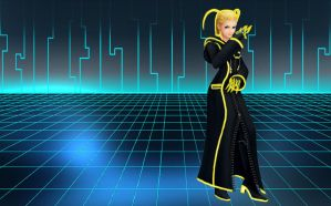 Tron Larxene wallpaper by RoxasTsuna