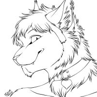 Flaer - Portrait Inks by kcravenyote