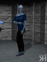 Liara Blue Top  Jeans (XPS) by Grummel83