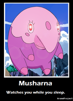 Musharna Motivational Poster by AruneProject