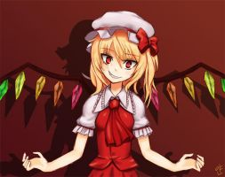 Bad Apple - Flandre Scarlet by yandere-Yuno