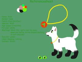 Ares Ref. sheet by Finchflight