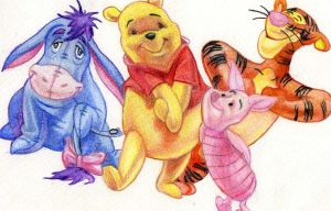 Winnie the Pooh by lilie1111