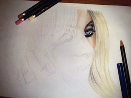taylor momsen colored II WIP by DeadlyAngel-Drawings