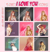 9 I love you Icons by orange-tree-house