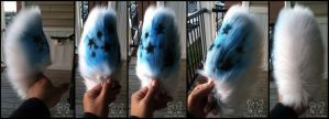 SOLD - Blue Starry Tail by TigeroftheWinds