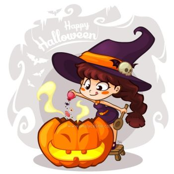 Happy Halloween by Malycia