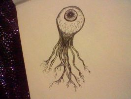 eyeball by DarkWolf1017