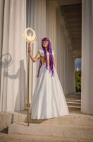 Athena Saint Seiya: home by ShinjusWorkshop