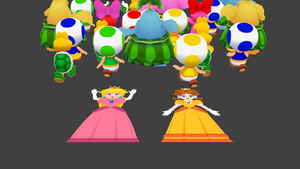 Mushroom Kingdom Black Friday by ObserveroftheLost