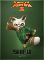 Kung Fu Panda 2 icon Shifu by YANNIArt