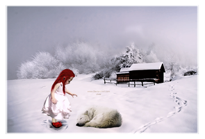 The girl with red hair by Miss--silvia