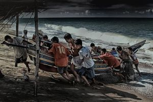 The Storm Is Here by SAMLIM