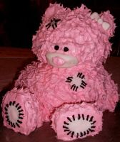 Teddy Bear Cake by Er-ca