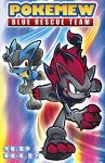 Zoroark and Lucario in Sonic world by elyoncat