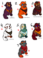 Fall Pup Adopts - Gone by Feralx1