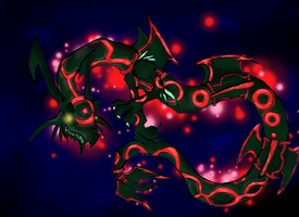 Primal Rayquaza by metamorro