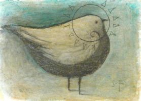Bird-Untitled No. 1 ACEO by SethFitts