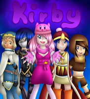 Kirby Group! by Milchwoman