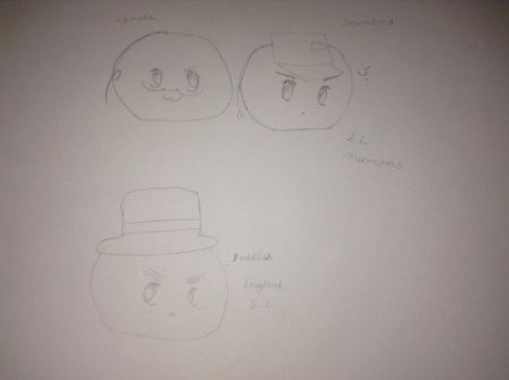 England, Canada , and Greenland by WantMoreMacarons