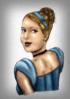 Carrie Underwood as Cinderella by FalseDisposition