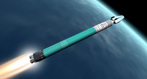 RCV01 Hatsune launched by M-II launch vehicle by mikusingularity
