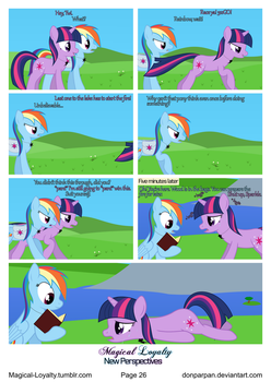 Magical Loyalty - New Perspectives Page 26 by WaveyWaves