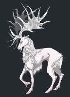 AUCTION ADOPT: Albino Irish Elk (CLOSED) by Tricksters-Adopts