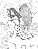 The Sad Angel by Miserie