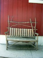 Wooden Bench by bean-stock