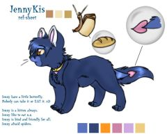 JennyKis ref-sheet NEW by OriginalShaggy