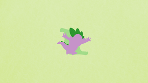 Spike Minimalist Wallpaper by apertureninja