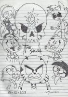 The Skull- TAWoG invented episode by DASimsTOON2012