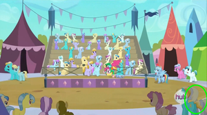 Derpy was in season 3 episode 2 the crystal empire by NicLove