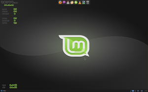 Linux Mint 9 16.07.10 by dinozaur1982
