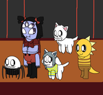 Undertale Cute Other Characters by pokemonlpsfan