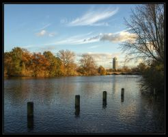 Late afternoon in Hyde Park by Isyala