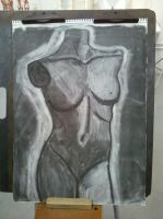 Mannequin in Charcoal by Fruits-Punch-Samurai