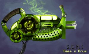 Bass n Drum Gun by KieranMorris