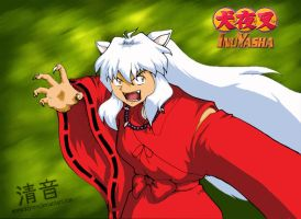 + Inuyasha - COLORED + by kiyone