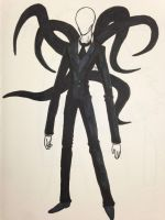 The Slender Man by gyrosword3